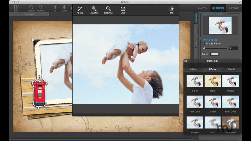 Ephnic Photo Collage for Mac - review, screenshots