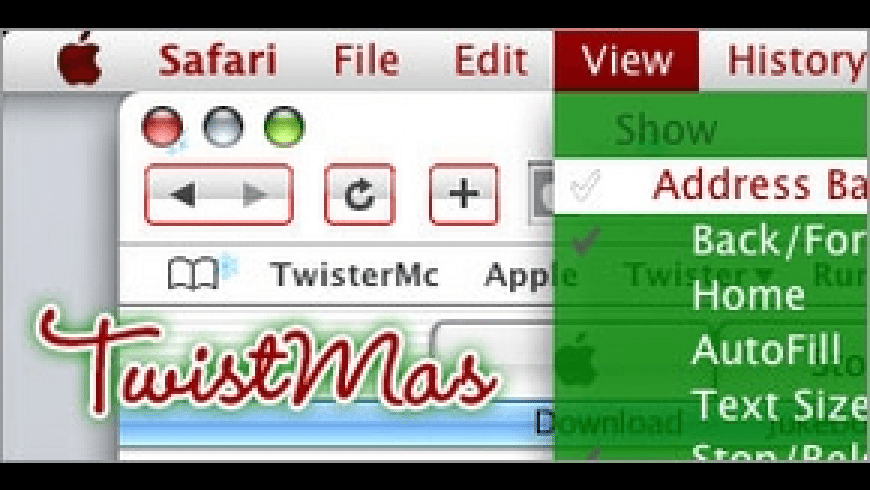 TwistMas for Mac - review, screenshots