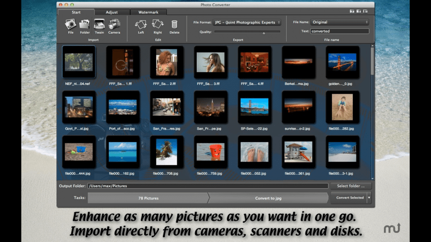 Photo Converter for Mac - review, screenshots