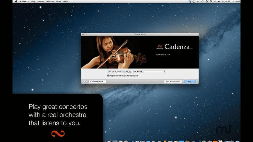 Cadenza for Mac - review, screenshots