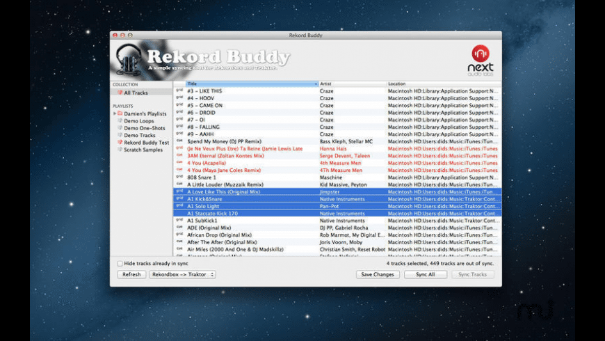 Rekord Buddy for Mac - review, screenshots