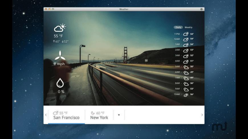 Beautiful Weather for Mac - review, screenshots