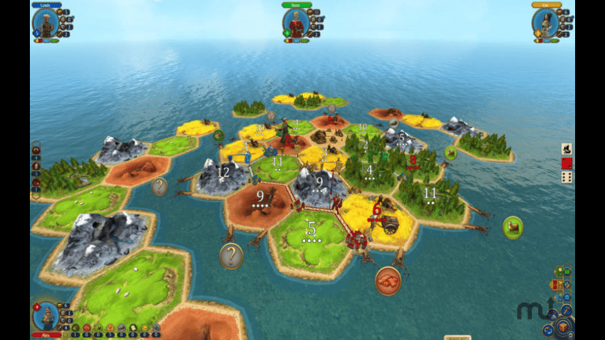 Catan for Mac - review, screenshots