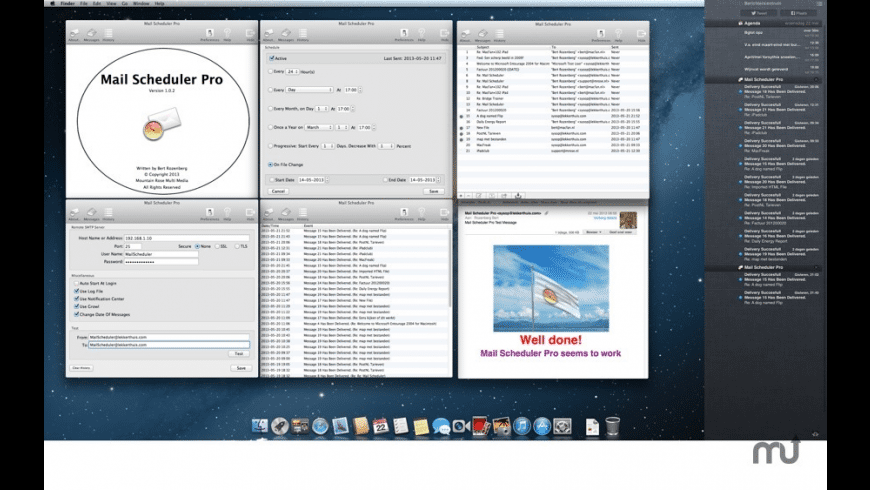 Mail Scheduler Pro for Mac - review, screenshots