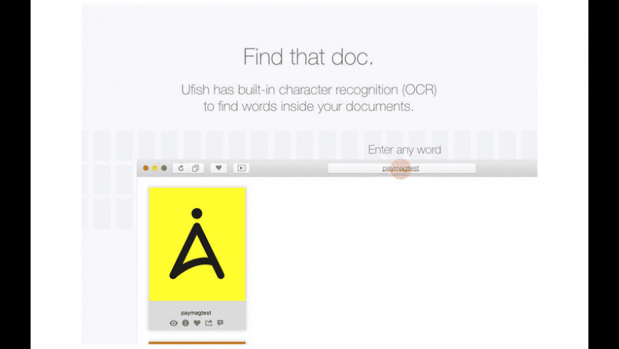 Ufish for Mac - review, screenshots