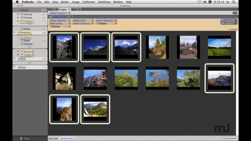 PixBinder for Mac - review, screenshots