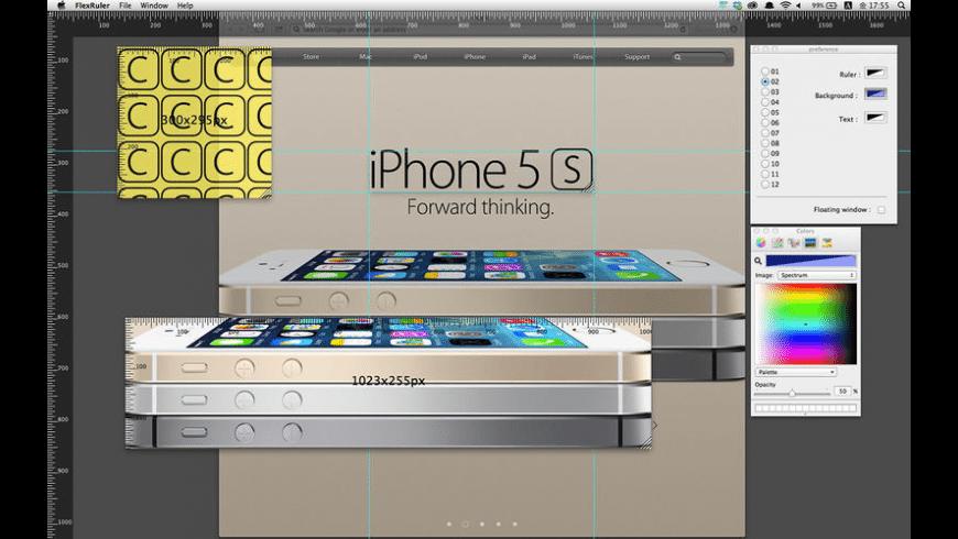 FlexRuler for Mac - review, screenshots