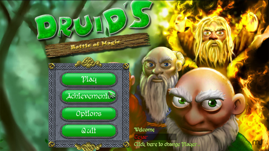 Druids - Battle Of Magic for Mac - review, screenshots