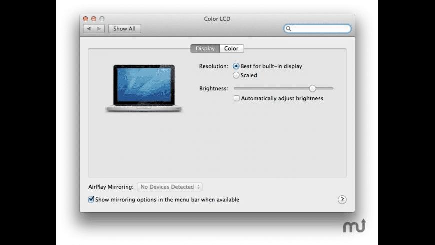 Detect Displays for Mac - review, screenshots