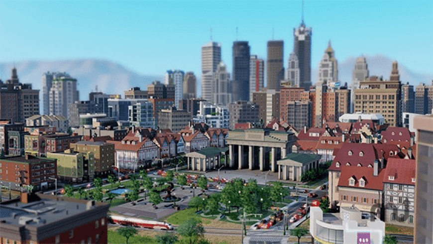SimCity for Mac - review, screenshots