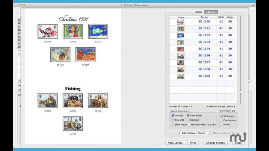 StampOrganizer for Mac - review, screenshots