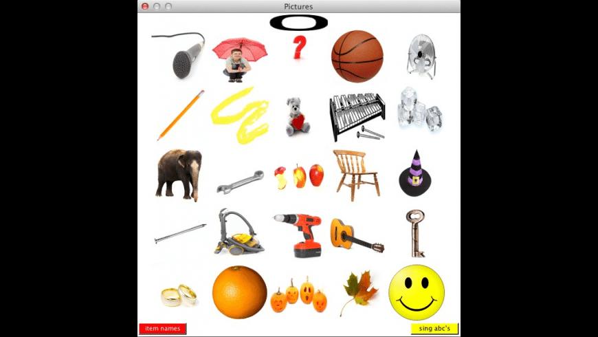 Talking Alphabet for Mac - review, screenshots