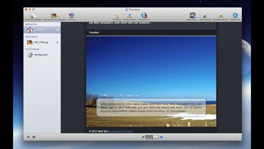 TransBox Stack for Mac - review, screenshots