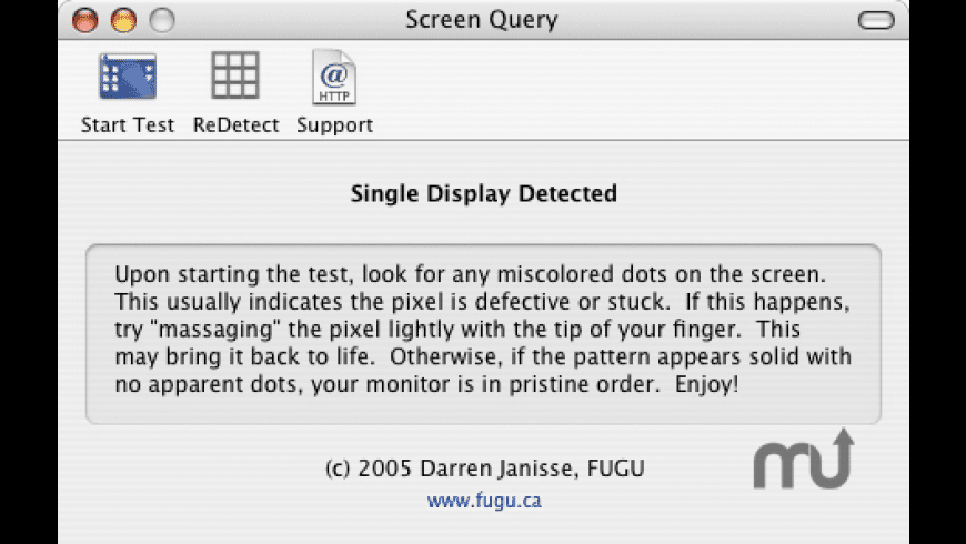 Screen Query for Mac - review, screenshots