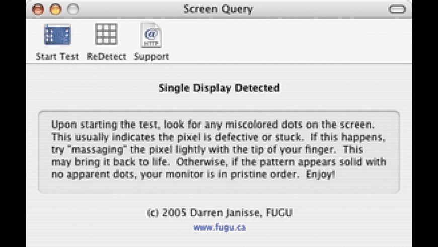 Screen Query for Mac - review, screenshots