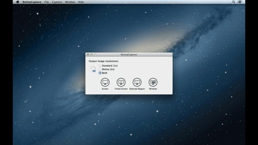 RetinaCapture for Mac - review, screenshots