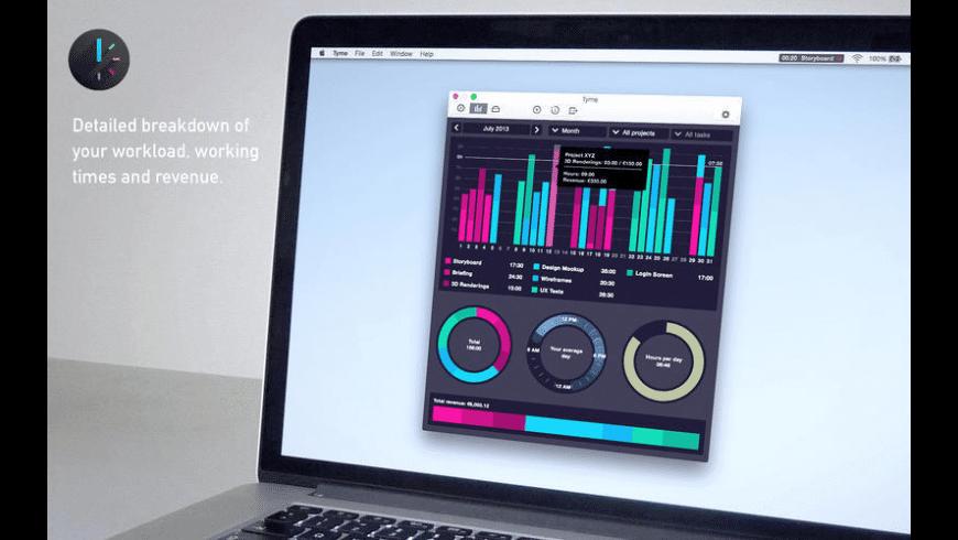 Tyme for Mac - review, screenshots
