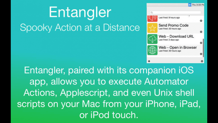 Entangler for Mac - review, screenshots