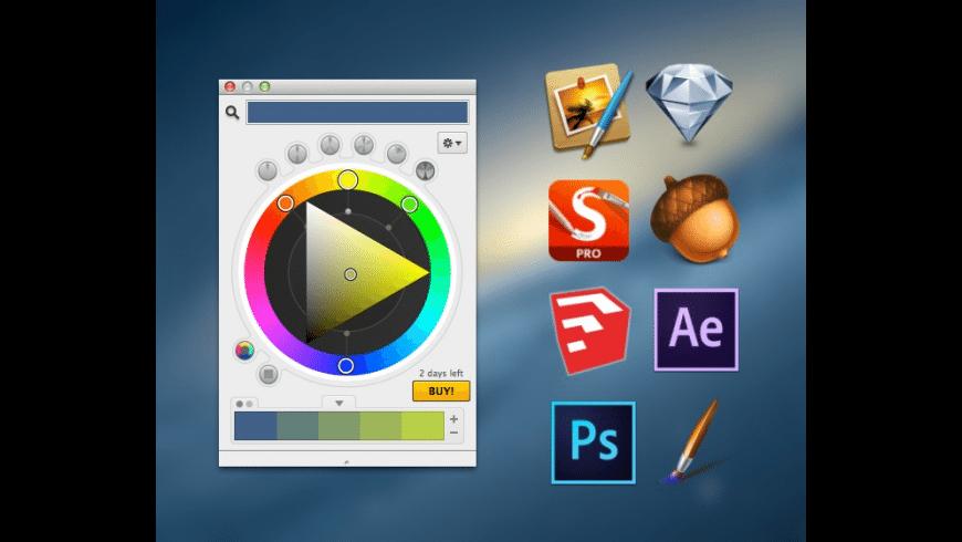 Coolorus for Mac for Mac - review, screenshots