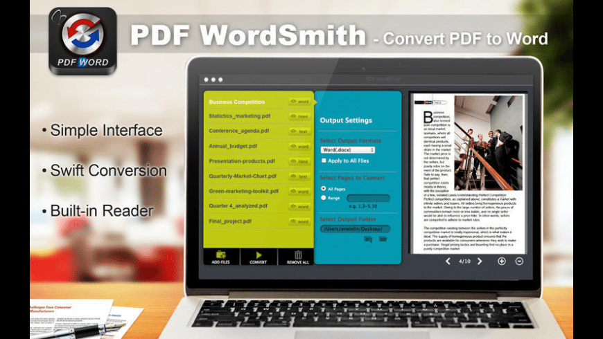 PDF WordSmith for Mac - review, screenshots