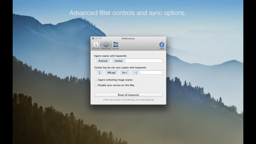 Paster for Mac - review, screenshots