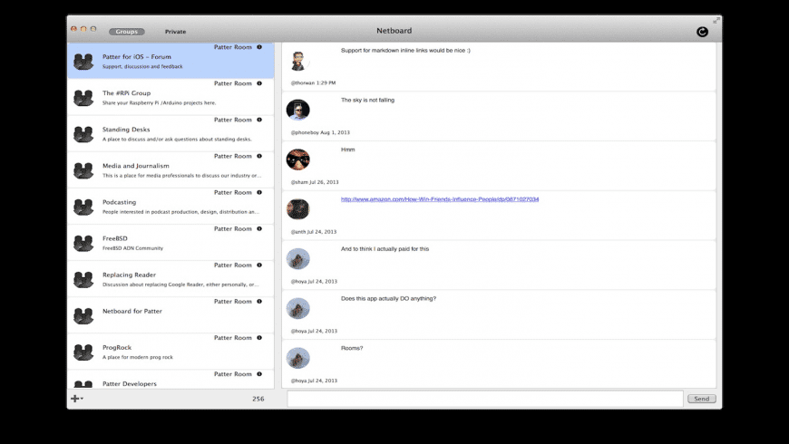 Netboard for Mac - review, screenshots