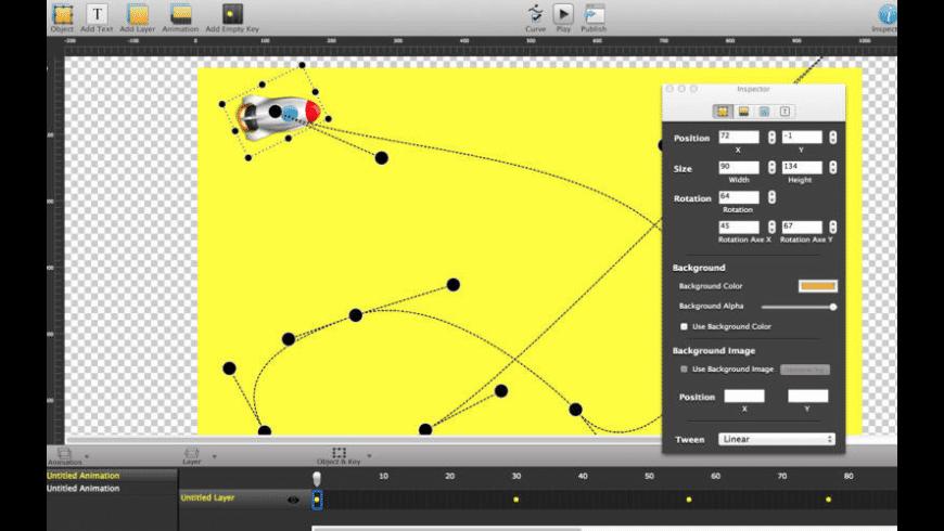 Rocket JS Animator for Mac - review, screenshots