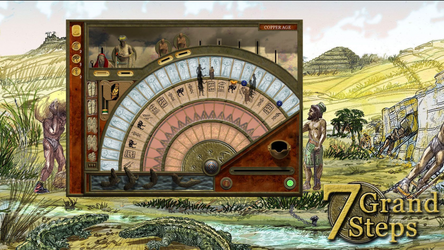 7 Grand Steps: What Ancients Begat for Mac - review, screenshots