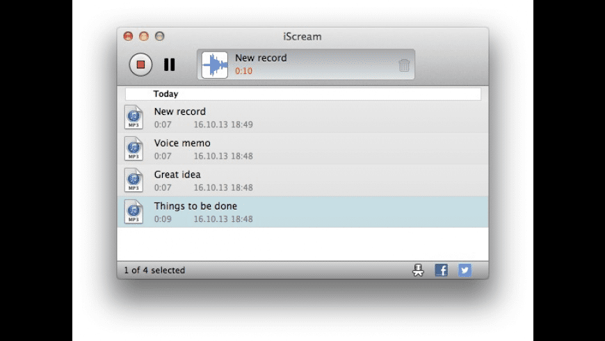 iScream for Mac - review, screenshots