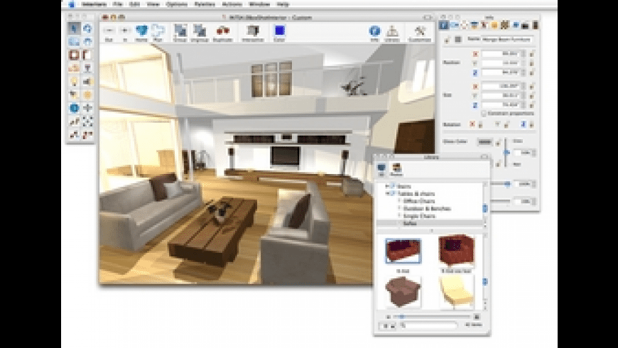 Interiors for Mac - review, screenshots