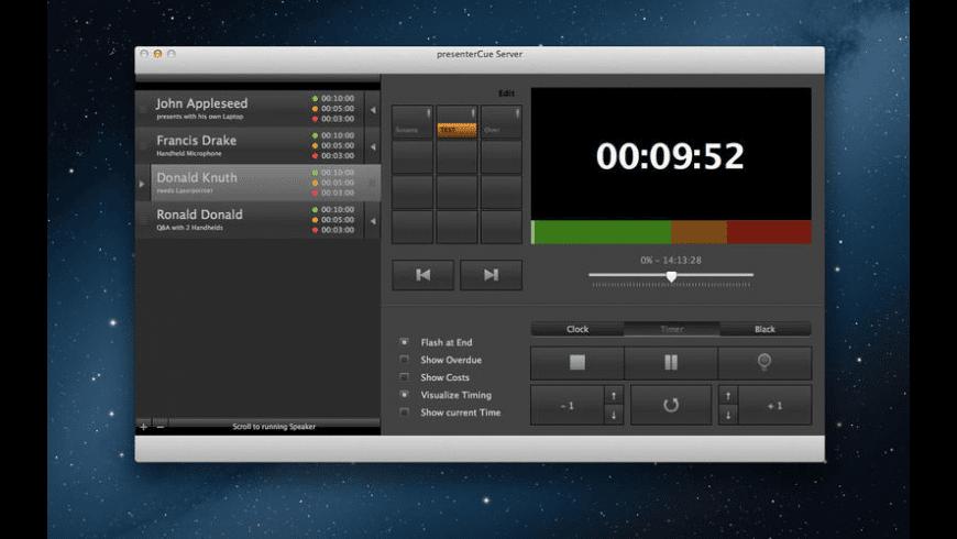 presenterCue for Mac - review, screenshots