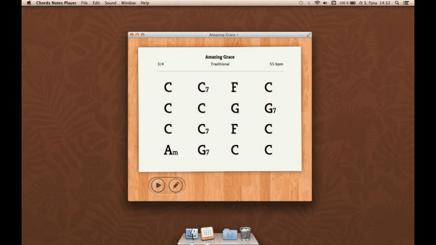 Chords Notes Player for Mac - review, screenshots