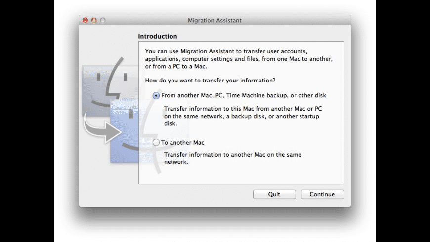 Migration Assistant Update for Mac OS X Lion for Mac - review, screenshots