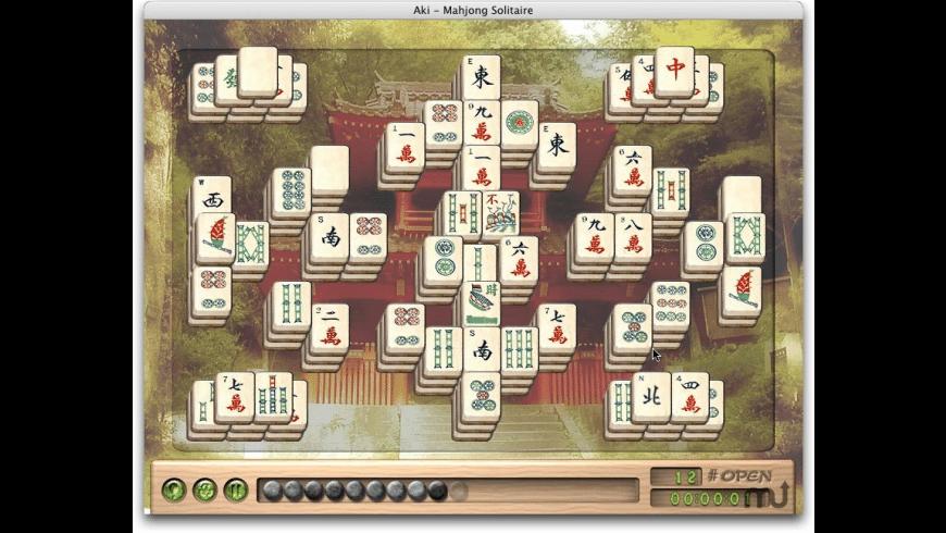 Aki Mahjong Solitaire for Mac - review, screenshots