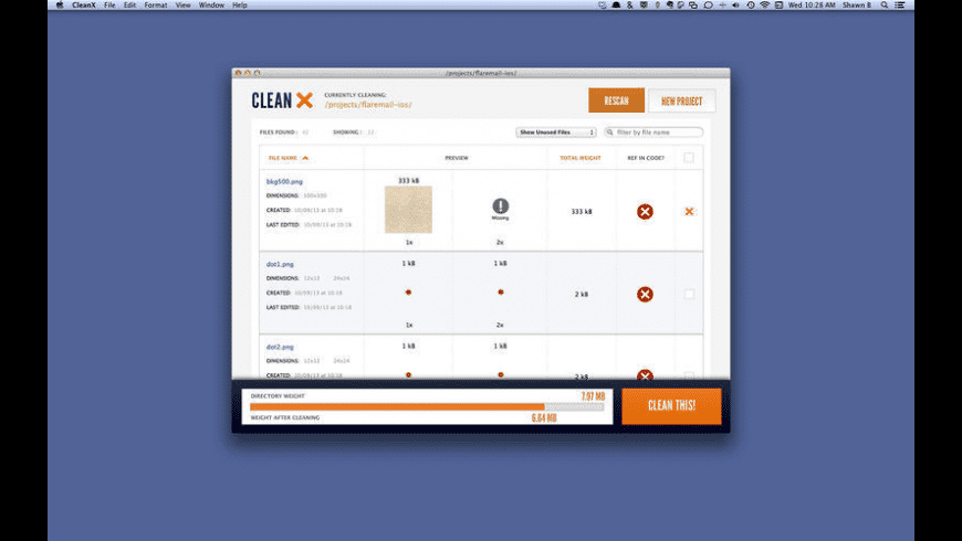 CleanX for Mac - review, screenshots