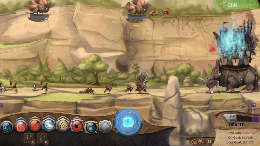 Roaming Fortress for Mac - review, screenshots