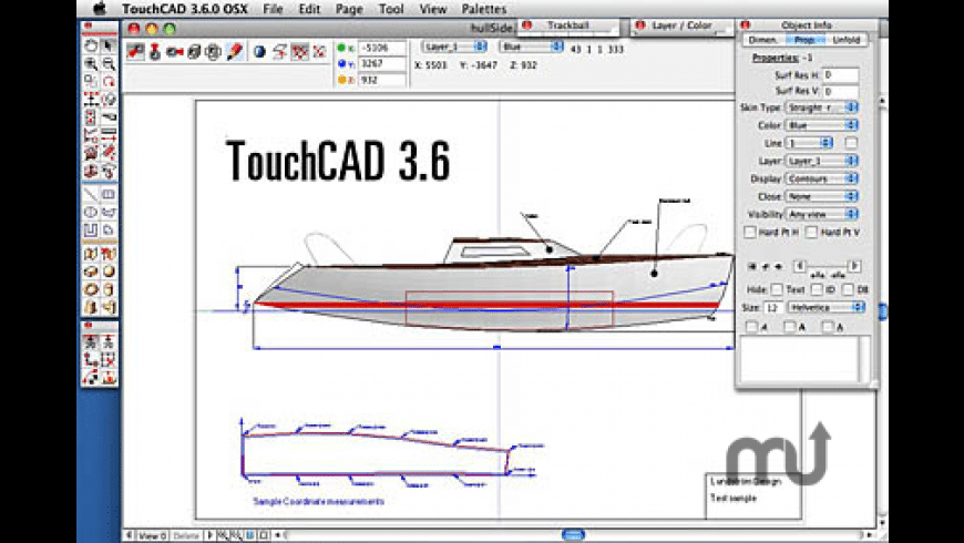 TouchCAD for Mac - review, screenshots