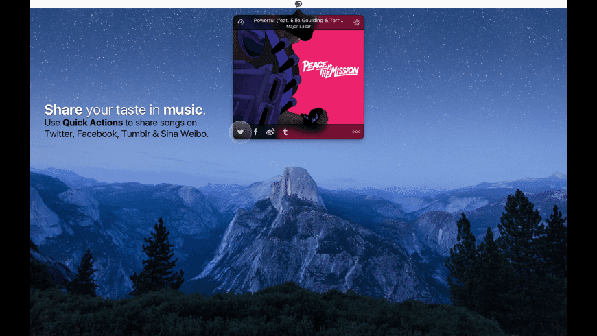 Share Tunes for Mac - review, screenshots
