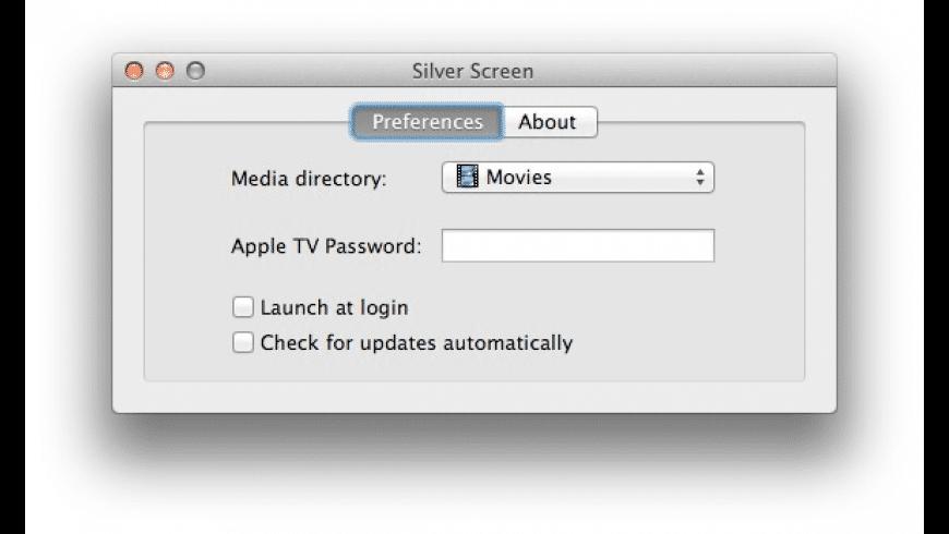 Silver Screen for Mac - review, screenshots