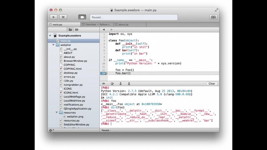 Exedore for Mac - review, screenshots