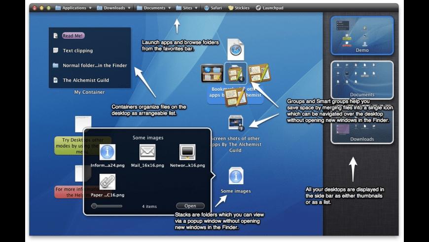 Desktops for Mac - review, screenshots