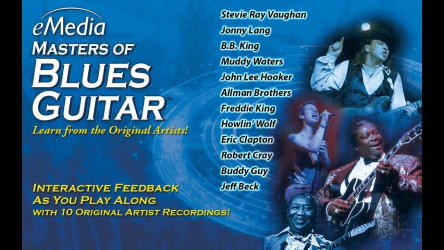 eMedia Masters of Blues Guitar for Mac - review, screenshots