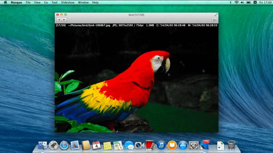 Mangao for Mac - review, screenshots