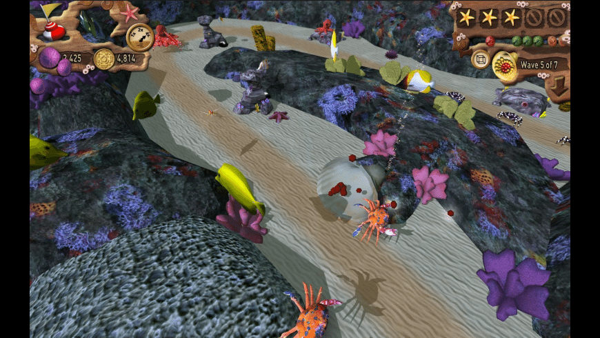 Fish vs Crabs for Mac - review, screenshots