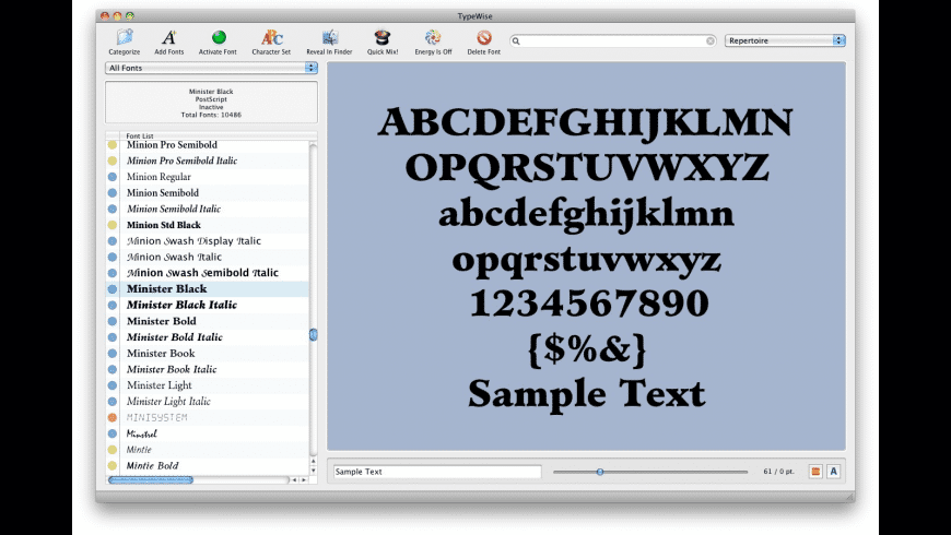 TypeWise for Mac - review, screenshots