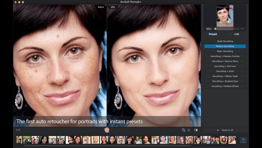 Portrait+ for Mac - review, screenshots