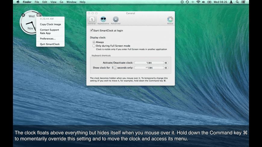 iSmartClock for Mac - review, screenshots