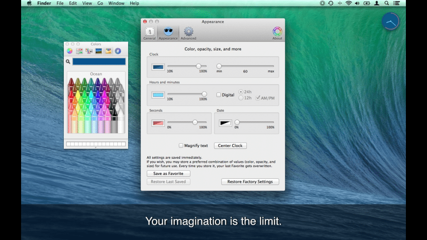 iSmartClock for Mac - review, screenshots