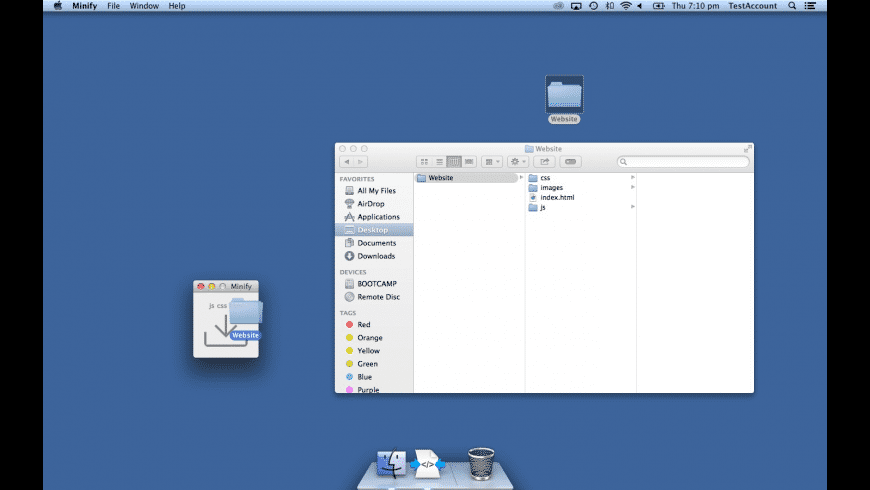 Minify for Mac - review, screenshots