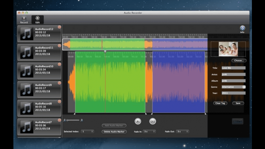 Record Studio Pro for Mac - review, screenshots
